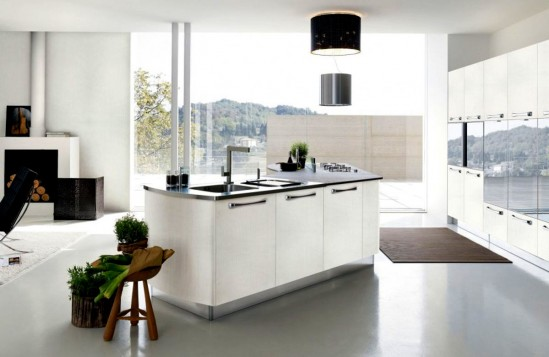 Design minimalist Bucatarie 2