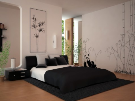Design minimalist Dormitor 4