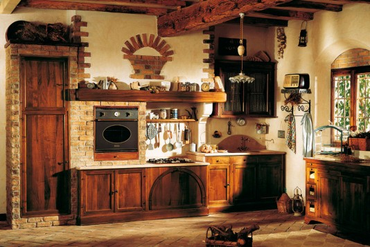 Design rustic Bucatarie 3