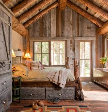 Design rustic Dormitor