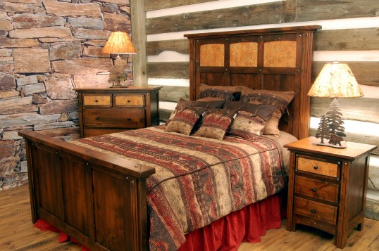 Design rustic Dormitor 5