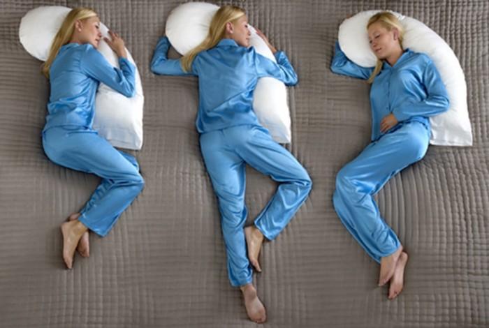 Perne pentru diferite pozitii de dormit